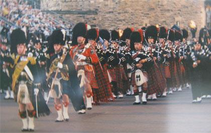 James L McWilliams has composed over 100 Pipe Band songs